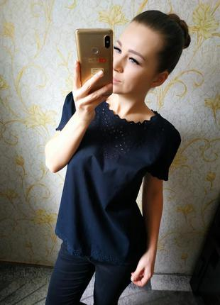 Очень красивая натуральная блузка
