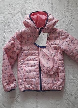 Демисезонная  куртка  5.10.15 на р. 116-122,  122-128.