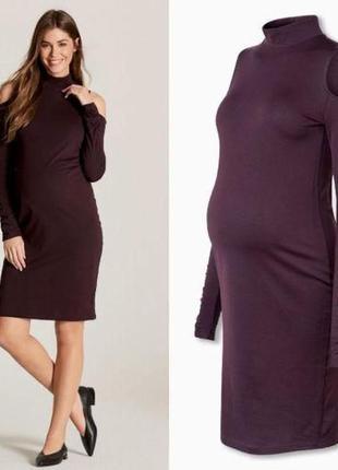 Платье для беременных с длинным рукавом