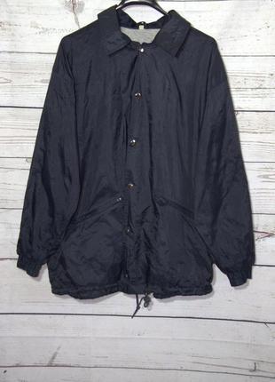 Мужская куртка-бомбер ветровка дождевик на осень/весну