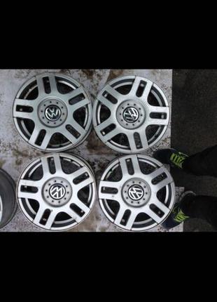 Диски R16, 5*100, et42, 6.5J, dia57.1, VW.