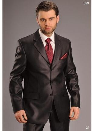 Стильный мужской классический костюм pako romano