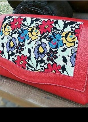 Сумка на плечо Сумка на молнии Красная сумка клатч Сумка Аксессуа