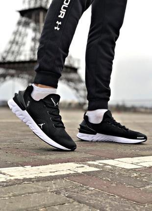 Прекрасные мужские кроссовки jordan react havoc чёрные