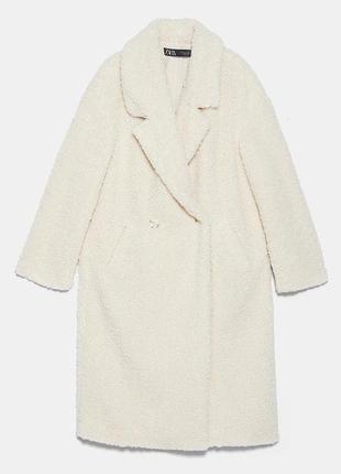 Шуба/пальто из эко меха zara