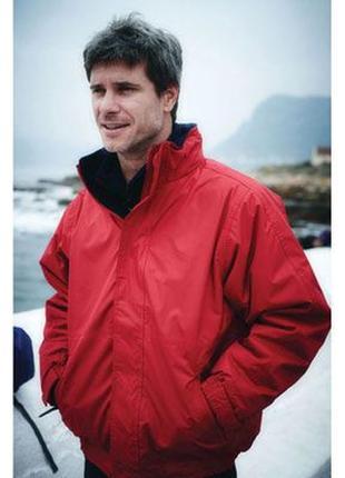 Демисезонная ветровка куртка бомбер красная variations