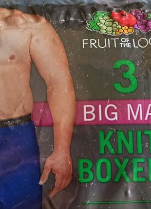 Трусы мужские большого размера - р. 54-56, хлопок,