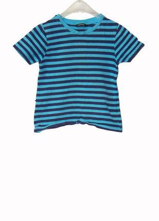 Детская футболка в полоску на 2-3 года