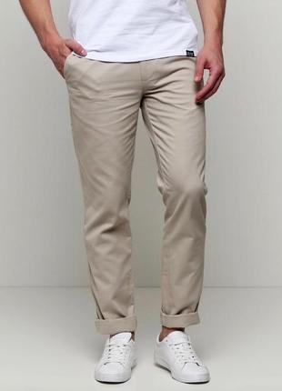 Стильные мужские брюки - чиносы из коттона
