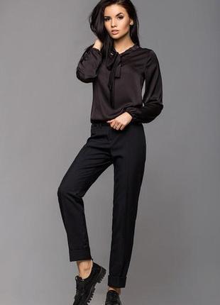 Классические черные брюки  размер s