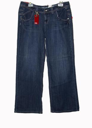 Стильные новые джинсы  широкие, прямого кроя uk14-16