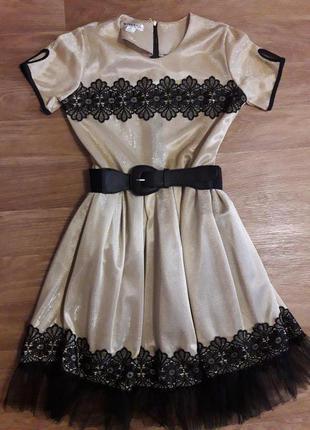 Нарядное платье р.164