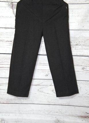 Темно-серые школьные брюки на 104 см