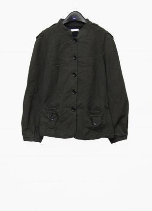 Шикарный пиджак/ жакет /куртка  с воротником стойкой