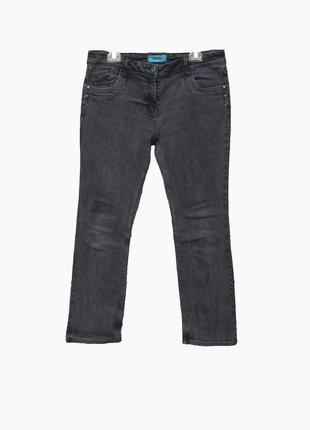 Крутые джинсы  серого цвета uk16