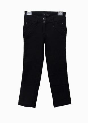 Теплые зимние брюки/штаны на девочку невысокого роста