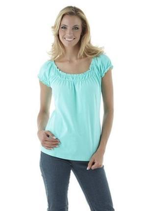 Cheer/базовая футболка мятного цвета