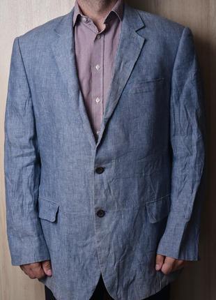 Легкий льняной  пиджак austin reed