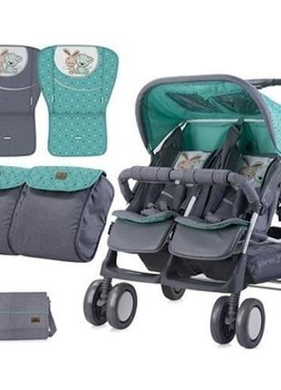 Детская коляска для двойни Lorelli Twin