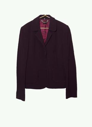 Элегантный английский жакет/пиджак  темно-бордового цвета