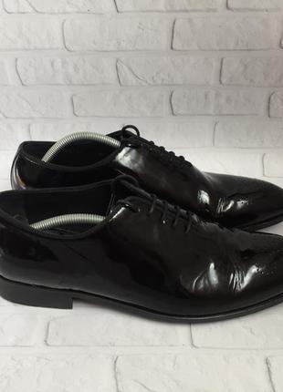 Шкіряні чоловічі туфлі lottusse кожаные мужские туфли оригинал
