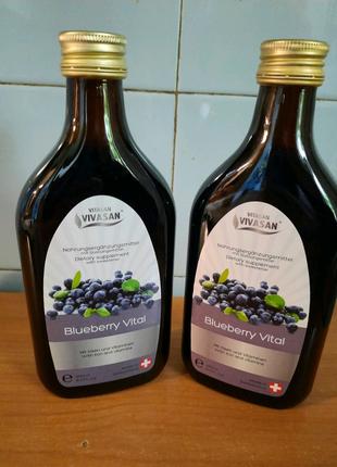 Напиток Черника витал/Blueberry Vital Vivasan