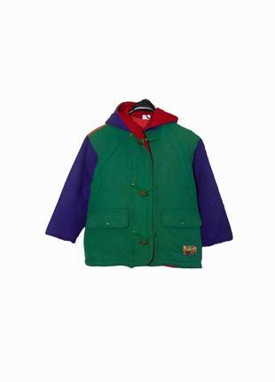 Детская куртка/парка/дафлкот из шерсти