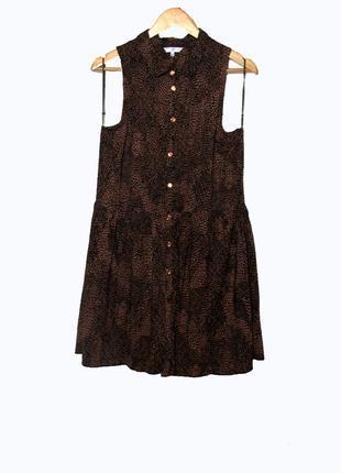 Стильное летнее платье/сарафан с открытой спинкой uk16