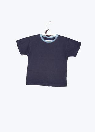 Детская коттоновая футболка на 2-3 года