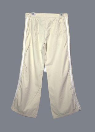Otto kern/стильные бежевые брюки/штаны в спортивном стиле с ла...