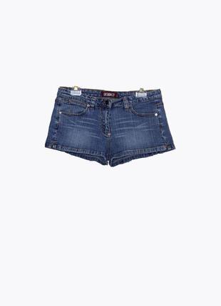 Короткие джинсовые шорты, стрейчь