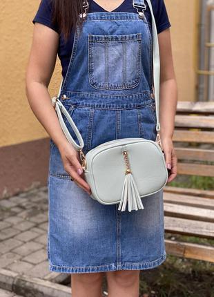 Стильная женская сумочка не большого размера к. 6317
