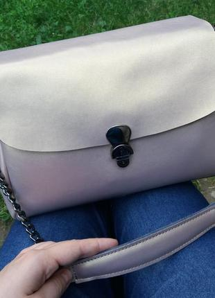 Кожаная женская сумка жіноча шкіряна клатч кожаный шкіряний