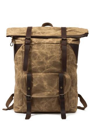 Городской классический рюкзак вайчак хаки воднепроницаемый