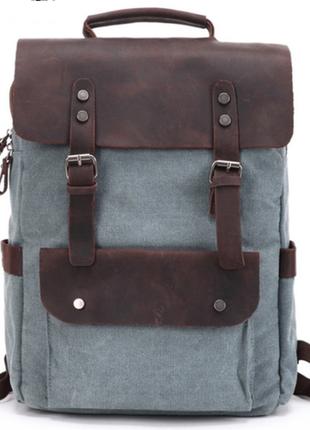 Городской классический рюкзак ренцель цвет синий