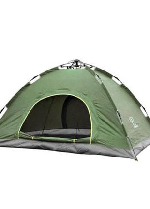 Палатка автоматическая Smart Camp, 4-х местная, зеленая
