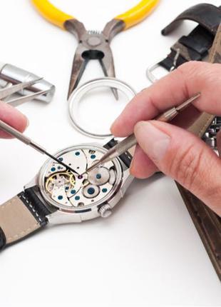 Ремонт часов любой сложности, настенные, настольные, наручные и т