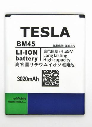 АКБ Tesla Xiaomi BM45 Redmi Note 2