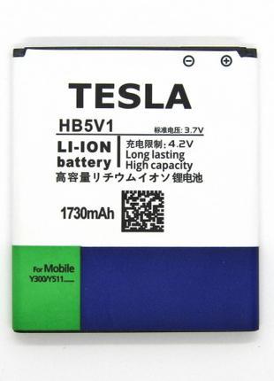 АКБ Tesla Huawei HB5V1 Y511 Y300 Y541  Li-ion, 3,7 В, 1730 мАг