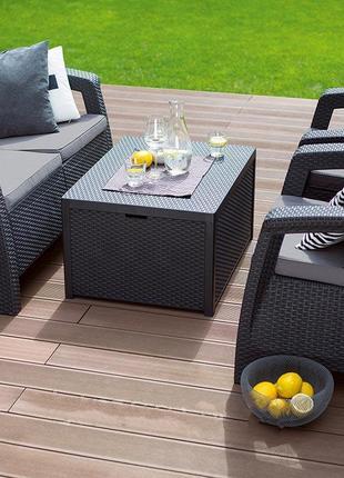 Комплект садовой мебели Keter Corfu Box Set