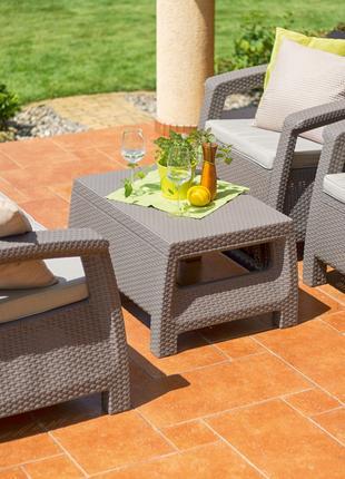 Комплект садовой мебели Keter Corfu Set