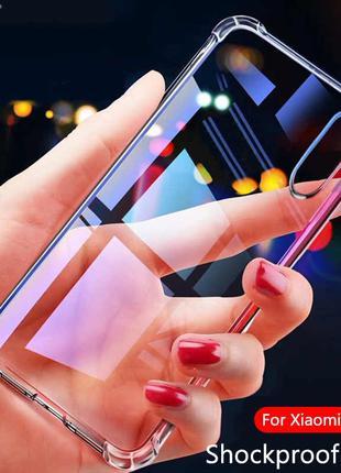Силиконовый Чехол XIAOMI Redmi  NOTE 8 Прозрачный
