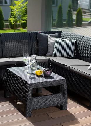 Комплект садовой мебели Keter Corfu Relax Set