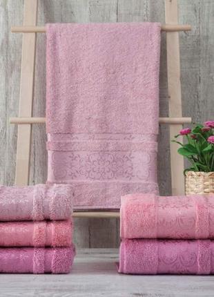 Набор махровых полотенец zeron бамбук 70х140 (3шт)