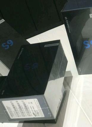 Samsung Galaxy S9   Запечатанный   Новый