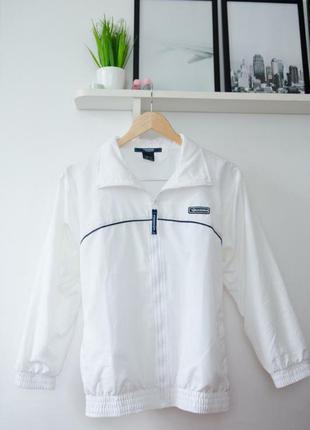 Спортивна куртка,бомпер белая diadora