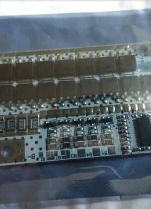 21 V Контролер BMS 5S/4S/3S 100A для Li-ion 18650 с балансировкой