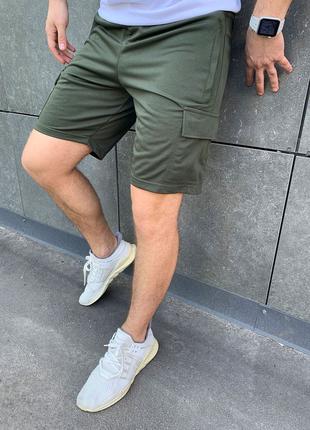 Шорты карго (материал лакоста) мужские