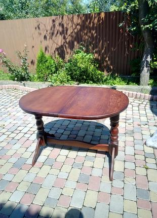 Стол из дерева (бука)120*80+40