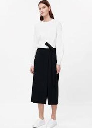 Фирменные брюки кюлоты юбка cos